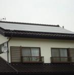 群馬県利根郡 住宅用太陽光発電工事